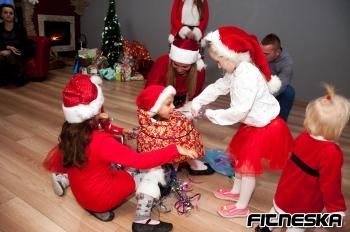 Mikołaj w Fitnesce